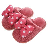 儿童棉拖鞋女童秋冬宝宝亲子室内家用婴幼儿小孩公主可爱卡通家居