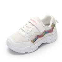 女童运动鞋2020春季新款软底时尚儿童休闲老爹鞋