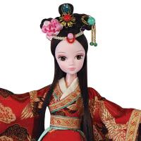 手工可儿娃娃中国古装新娘 木兰红妆女孩玩具儿童礼物