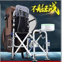 新款多功能钓鱼椅子折叠钓椅垂钓台钓椅钓凳渔具用品户外垂钓