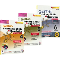 攻克数学系列应用题思维和探索SAP Conquer Thinking Skills & Heuristics 4-6年