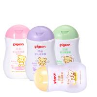 [Pigeong贝亲]清洁护肤套装洗发精+沐浴露+润肤露+按摩油