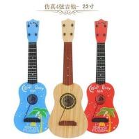 儿童宝宝幼儿园小朋友乐器男女孩早教音乐玩具仿真小吉他可弹奏