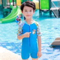 新款儿童泳衣男女童宝宝婴儿游泳衣中大童游泳裤连体泳装