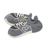 NEW BALANCE/NB男袜 2018新款运动休闲短袜船袜 JAS8222MABK