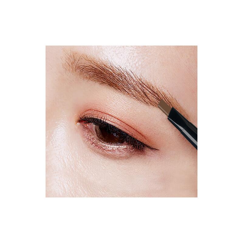 左颜右色眉笔防水防汗不脱色持久双头一字眉初学者眉粉