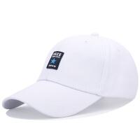 时尚休闲男士棒球帽百搭韩版潮人太阳鸭舌帽女青年运动遮阳帽