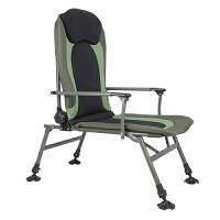 户外折叠椅钓鱼椅垂钓椅野餐椅子写生导演椅沙滩休闲椅子靠背凳子 军绿色
