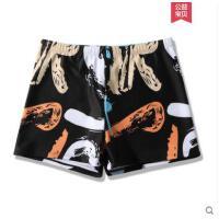 游泳裤男平角五分宽松防尴尬速干时尚温泉泳衣男士潮沙滩裤