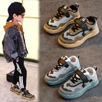 儿童鞋秋款冬季男童鞋休闲运动鞋童鞋子板鞋潮