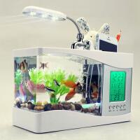 生日礼物男生送老公男友同事男朋友领导创意迷你玻璃金鱼缸桌面水族箱实用家居摆件结婚礼物