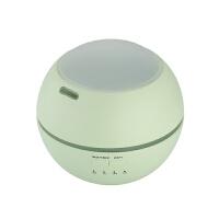 新款超声波七彩夜灯光影香薰机办公家用加湿器直充3C认证适配器