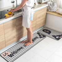 创意卡通多功能长条地垫 柔软厨房踩脚垫子客厅卧室床边毯