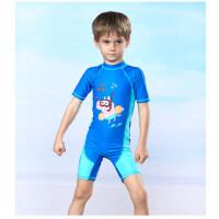 小猪佩奇儿童泳衣女女童男童宝宝连体泳装中大童小童速干防晒装备