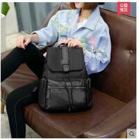 双肩包女韩版学院风 时尚休闲女包书包新款包包背包女双肩韩 可礼品卡支付