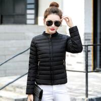 冬季新款轻薄棉衣女短款韩版修身羽绒学生小棉袄女棒球服外套