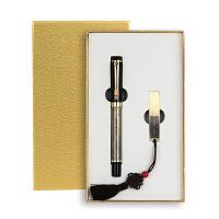 复古典u盘16g钢笔套装中国风特色精美创意文化礼品定制刻字印logo