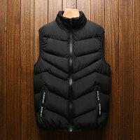 马甲秋冬男士加厚新款韩版潮流修身帅气坎肩上衣青年潮牌马夹外套