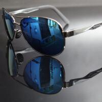 飞行员眼镜偏光太阳眼镜司机墨镜蓝膜 男女 蛤蟆镜