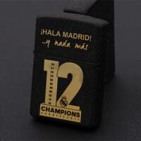 足球皇马欧冠12冠纪念足球球星C罗贝尔拉莫斯球迷煤油打火机皇马欧冠12冠礼品 皇马欧冠
