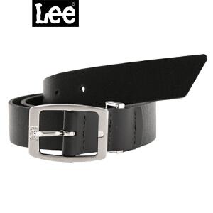 Lee2017秋冬新款男士黑色时尚百搭皮带L24737L01K11/ C4D真皮牛皮皮带