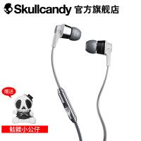SKULLCANDY INKD 2.0 IN-EAR(音客)手机线控带麦入耳式耳机 灰银色