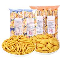 汉馨堂 咪咪虾条18g*40包 虾味蟹味膨化食品经典怀旧儿童零食小吃大礼包 虾条蟹粒