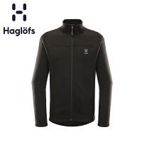 Haglofs火柴棍户外秋冬男款加厚舒适保暖抓绒衣603725 欧版