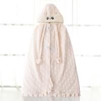 婴儿斗篷秋冬款婴幼儿外出防风男女新生儿童披肩外套宝宝披风