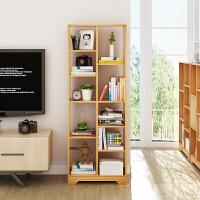 书架 简易书橱现代客厅简约落地置物架创意隔断展示架子经济型多功能储物柜书房学生书柜