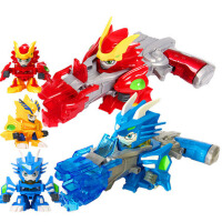炽火神龙爆炫神枪激战奇轮3玩具战轮2烈焰狮王神兽合体套装