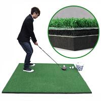 高尔夫打击垫 练习场专用球垫 打击垫 高尔夫练习毯 高尔夫练习垫1.5*1.5米 3D打击垫/带防滑底