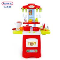 宝宝煮饭餐具儿童过家家厨房玩具 女孩做饭厨具套餐