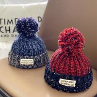 宝宝帽子儿童毛线帽婴儿冬天潮婴儿秋冬季