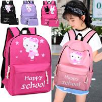 韩版儿童书包小学生女生1-3-5-4-6三六年级女孩6-12周岁双肩背包