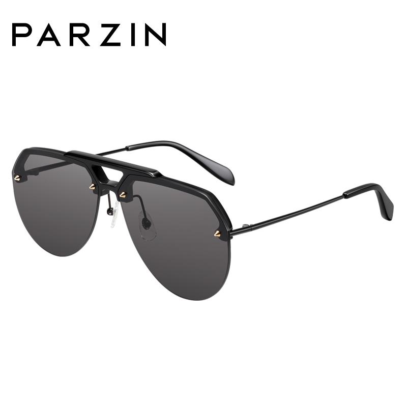 帕森太阳镜 2018新品 酷感透色尼龙太阳镜女 板材潮人墨镜男司机驾驶镜7736
