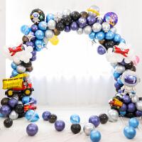 儿童周岁宝宝生日拱门支架气球动物卡通主题派对店铺开业装饰用品