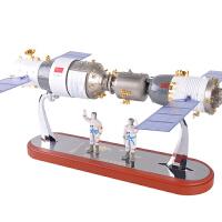 20180715063609489神舟十一号天宫二号对接器模型合金神舟11号宇宙飞船航天模型摆件