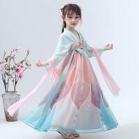 儿童汉服女童宝宝衣服中国风夏装唐装襦裙