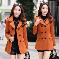 中老年女装秋季短款外出服40-50岁30中年人妈妈冬装气质毛呢外套