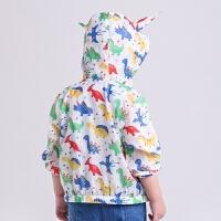 童装男童外套3春秋儿童冲锋衣春装2宝宝5岁薄款4小童开衫夏