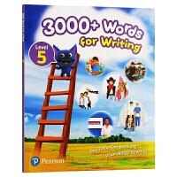 培生原版进口朗文英语小学教材 香港小学英语写作3000词5级别 3000+ Words For Writing 香港教育