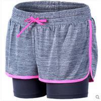 韩国含里衬运动短裤女透气防走光新健身速干显瘦跑步短裤 可礼品卡支付