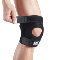 LP欧比护膝 双弹簧支撑型膝关节护具782 篮球羽毛球运动护具 单只