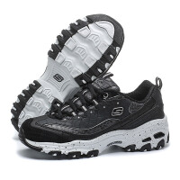 skechers斯凯奇女鞋D'lites熊猫鞋运动休闲鞋66666054