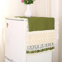 简约双开门冰箱罩防尘罩单开门盖巾田园冰箱防尘罩收纳冰箱套