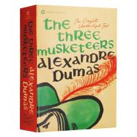 三个火枪手 英文原版小说 The Three Musketeers 大仲马 三剑侠 经典世界名著文学 贫民窟里的百万富翁