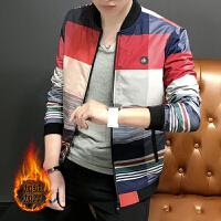 外套男士2017新款春秋韩版修身帅气外衣服潮流秋冬季百搭春季夹克