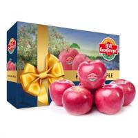 佳农山东烟台红富士苹果脆甜苹果礼盒装15枚约8斤
