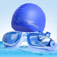 硅胶游泳帽男女长发防水护耳大号成人儿童泳镜泳帽沙滩度假套